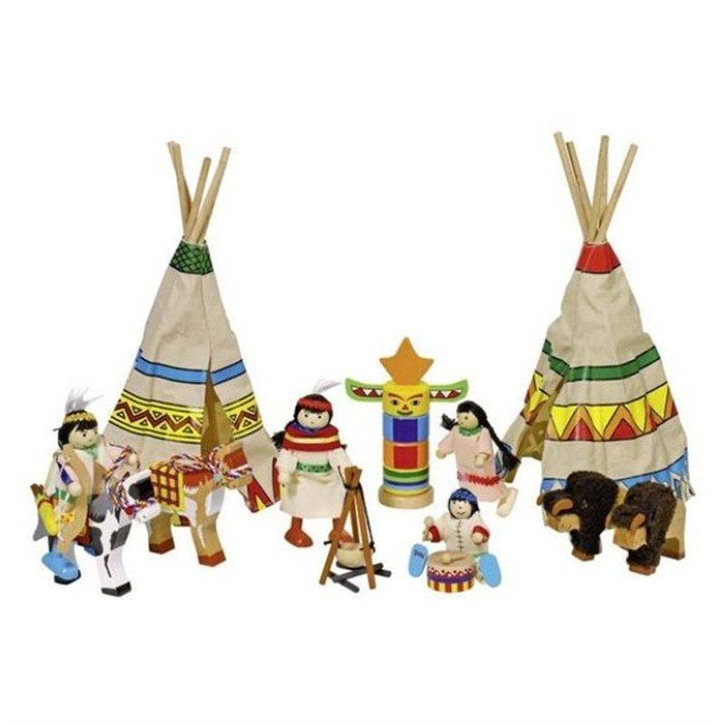 mijn-indianen-dorp